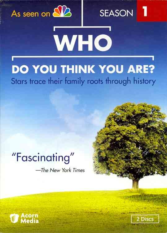 WHO DO YOU THINK YOU ARE SEASON 1 BY WHO DO YOU THINK YOU (DVD)