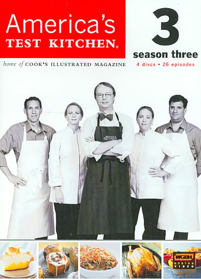 AMERICA'S TEST KITCHEN SEASON 3 BY AMERICA'S TEST KITCH (DVD)